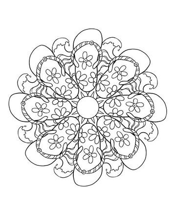 dibujos para bordar a mano gratis mandala