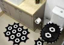 Los más bellos juegos de baño tejidos en crochet