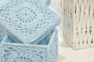 Enamórate de estas manualidades a crochet para el baño