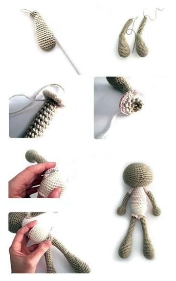 muñecos de crochet paso a paso faciles