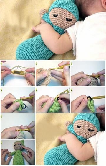 muñecos de crochet paso a paso gratis