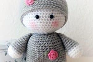 ¡Qué encantadores muñecos tejidos a gancho!