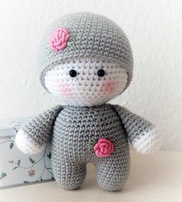 muñecos tejidos a gancho para bebes