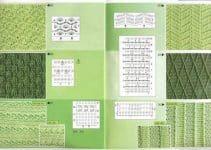 Escoge entre este muestrario de puntos a crochet