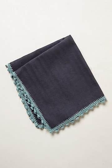 orillas para servilletas sencillas tejida