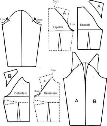 patrones de blusas para damas gratis