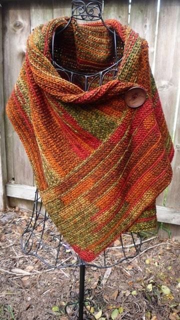 ponchos tejidos al crochet patrones
