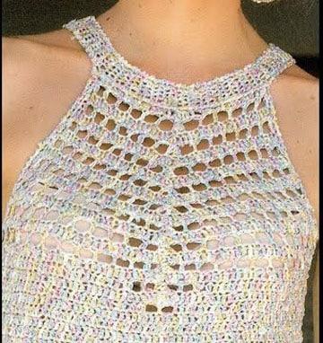 puntadas de ganchillo para blusas imagen