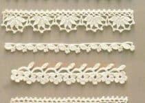 Estas puntillas tejidas a crochet lo embellecen todo