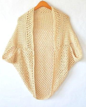sacos tejidos a crochet paso a paso