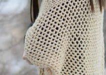 Bellos sacos tejidos a crochet para verano e invierno
