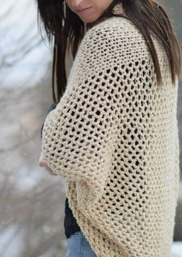 sacos tejidos a crochet verano