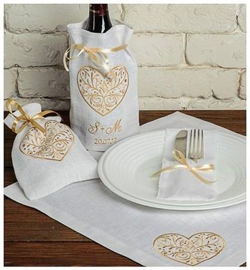 tipos de bordados para servilletas para boda