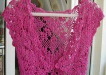 Mira estas coquetas toreras tejidas a crochet