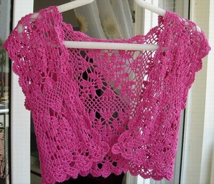 toreras tejidas a crochet como hacer