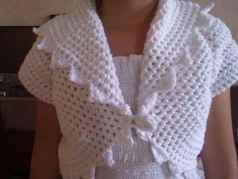 toreras tejidas a crochet imagenes