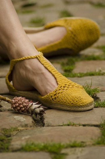 zapatos tejidos para adultos para dama