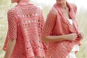 Blusones tejidos a crochet para tu próxima ocasión especial