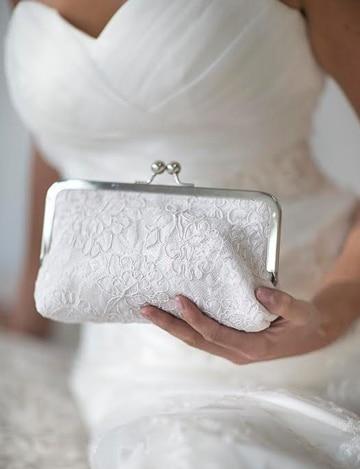 carteras de mano para bodas de boquilla