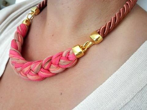 como hacer collares y pulseras basicos