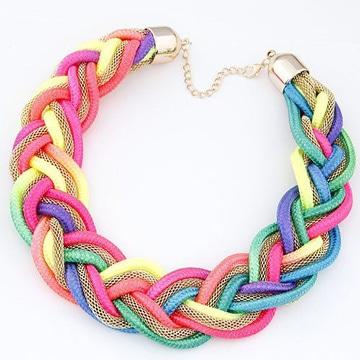 como hacer collares y pulseras de colores