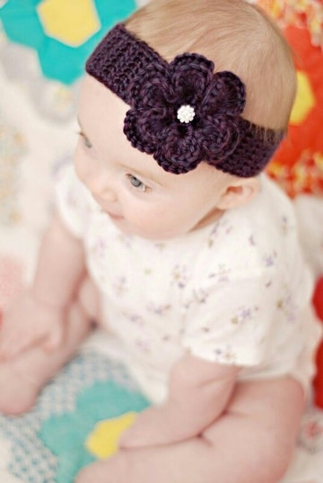 Knitting Pattern Central Headbands : Ideas lindas sobre como hacer turbantes para bebe Tejidos a crochet paso a ...