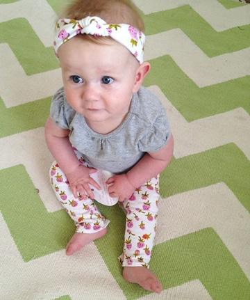 como hacer turbantes para bebes sencillo