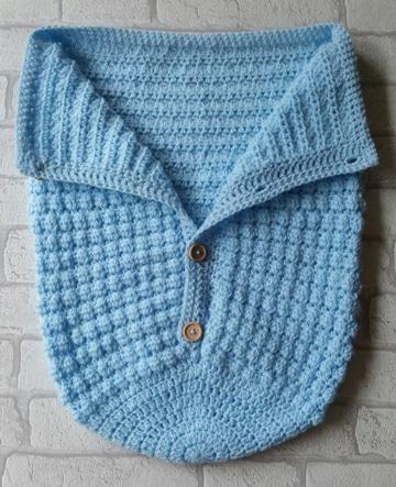 costalitos tejidos para bebe sencillo