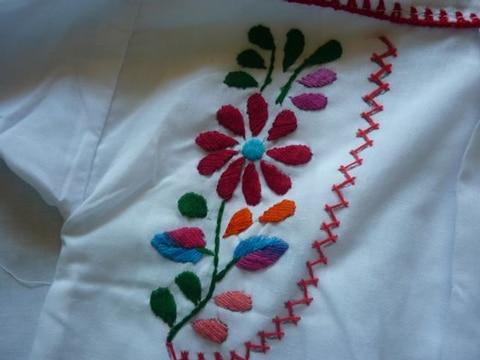dibujos para bordado mexicano camisa