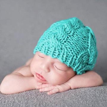 gorros de lana para bebes recien nacidos