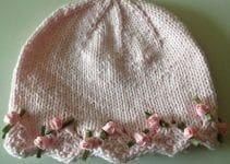 ¡Adorables gorros de lana para niñas que no te podes perder!