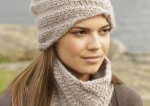 Los gorros tejidos a palillo, aliados de estilo y confort