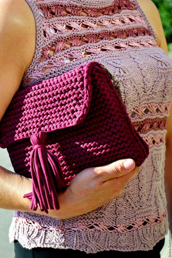 imagenes de bolsos tejidos de mano
