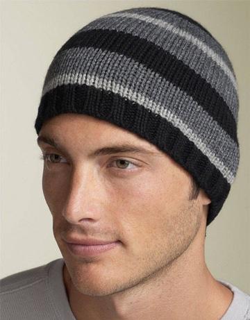 imagenes de gorros de lana para hombre