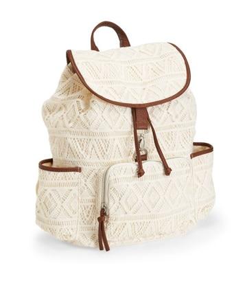 imagenes de mochilas de moda blanca
