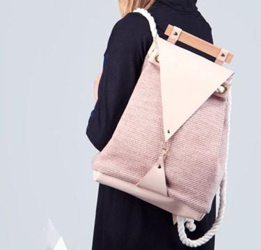 imagenes de mochilas de moda rosada
