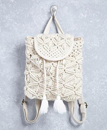imagenes de mochilas de moda tejida