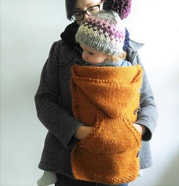mochilas para llevar bebes con gorrito