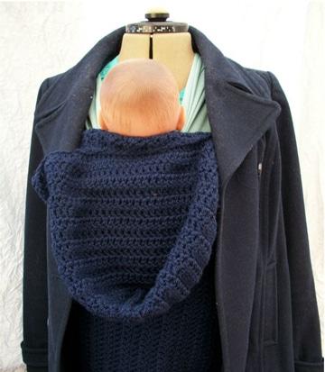 mochilas para llevar bebes de lana