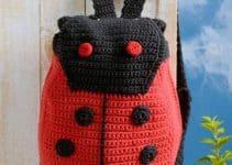 Aprende a hacer mochilas tejidas a crochet paso a paso