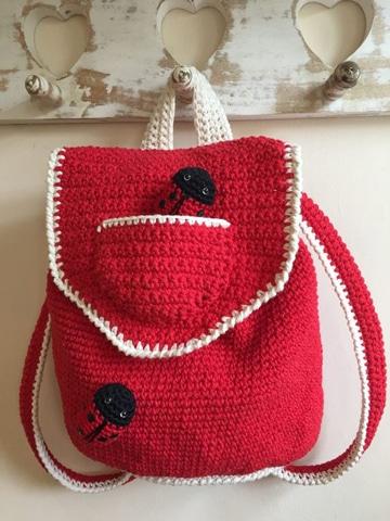 mochilas tejidas a crochet paso a paso faciles