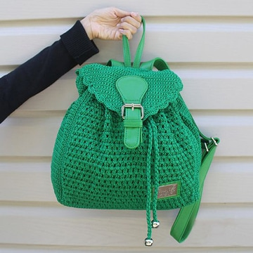 mochilas tejidas a crochet paso a paso juveniles