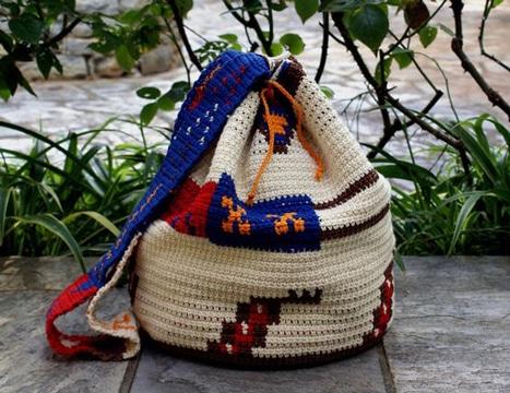 mochilas wayuu para hombre joven
