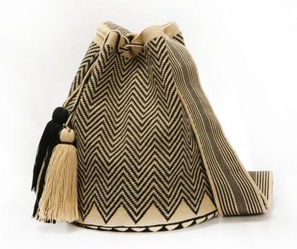 mochilas wayuu para hombre lineas quebradas