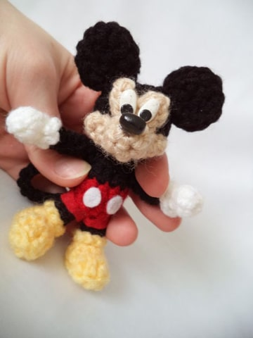 peluches de mickey mouse en miniatura