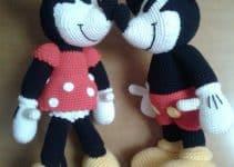 """4 peluches de mickey mouse para regalar y """"enamorar"""""""