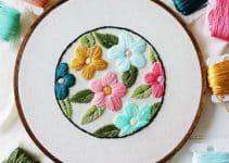 Puntadas para bordar flores ¡Deja que el color te envuelva!