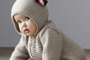 4 tipos de sueter tejido a gancho para niña que enamorarán