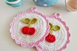 Unas agarraderas tejidas al crochet que antojan cocinar