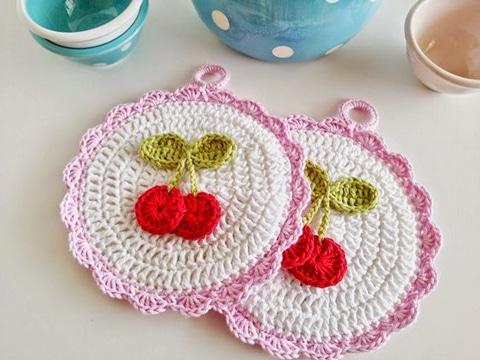 agarraderas tejidas al crochet sencillas